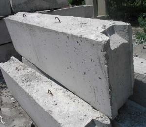 Крупные бетонные блоки