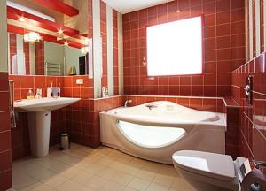 Оформление интерьера ванных комнат