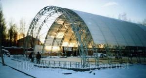 Опыт строительства и эксплуатации арочных зданий