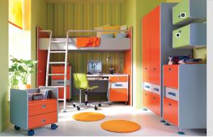 Выбираем мебель для маленькой детской
